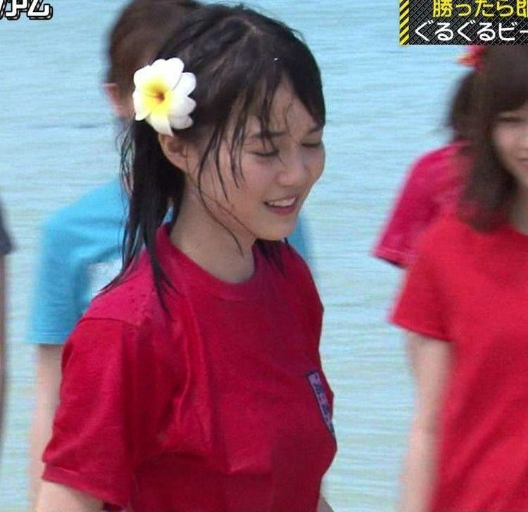 生田絵梨花ちゃん乳首が少しポチってる?