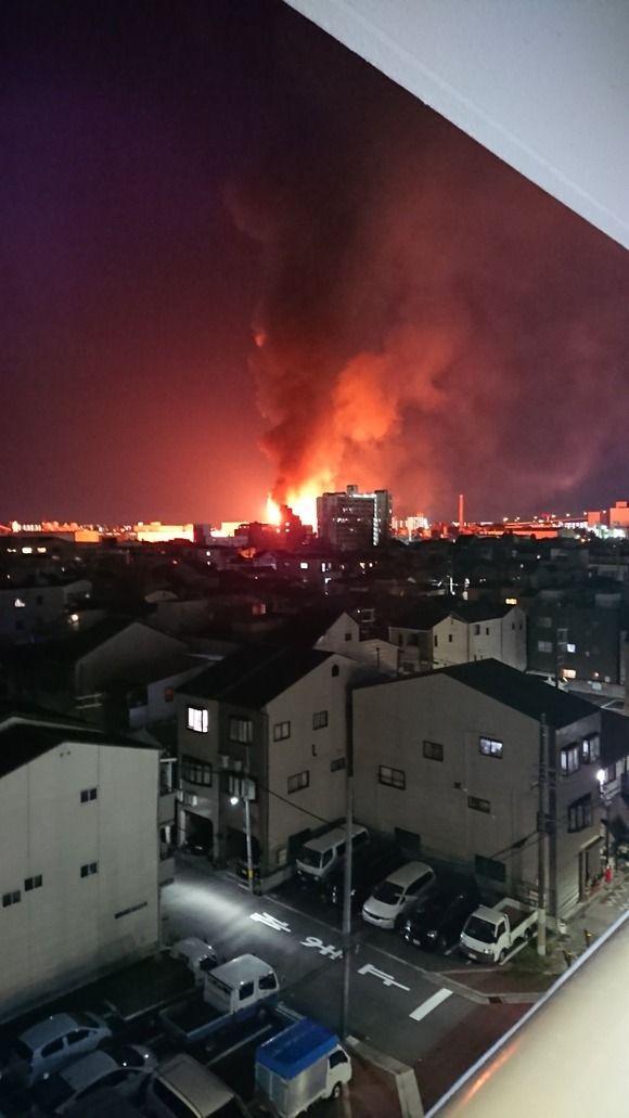 【悲報】西成区で大爆発 (画像あり)