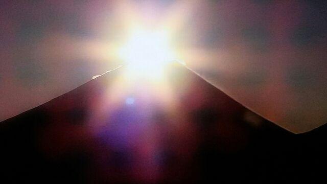 ダイヤモンド富士1