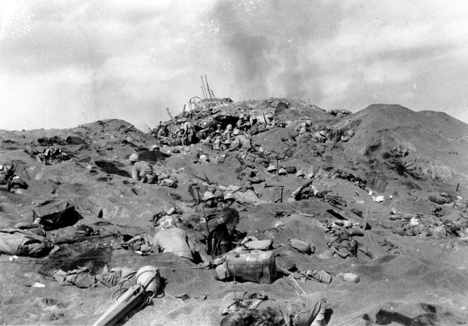 海兵隊の記録【硫黄島の戦い1945...