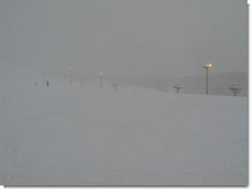雪が降り続くホワイトパーク