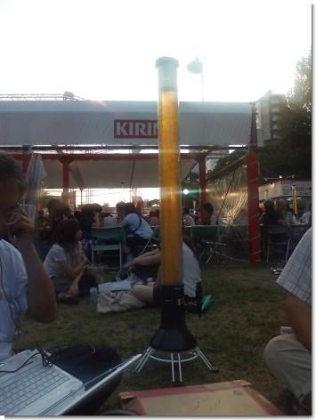6L入りのビールタワー