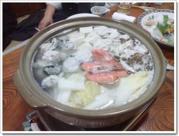 岩見沢俵の湯豆腐鍋