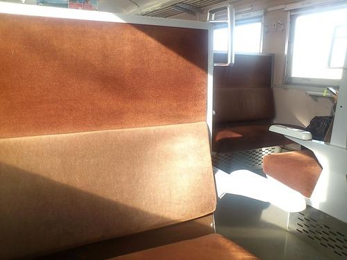711系の座席