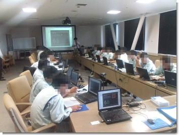 CAD講習会の模様