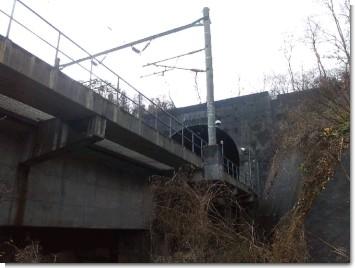 青函トンネル北海道側出口