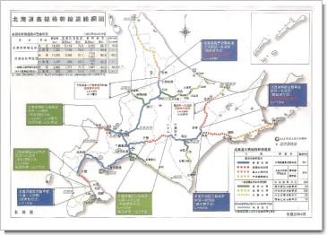 北海道高規格幹線道路網図