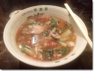 信濃路のトマト麺2