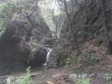天狗滝への道
