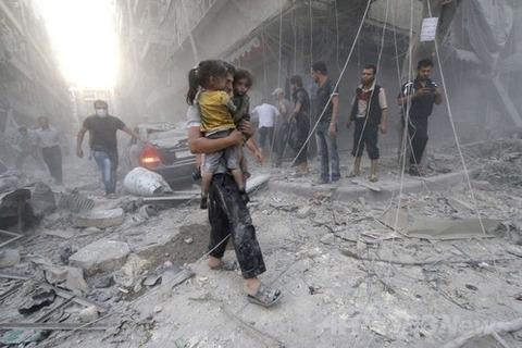 シリア内戦の現場 AFPより