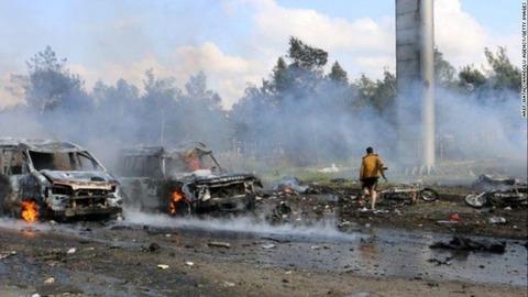 多くの疑念が残る難民バス爆破テロの真相