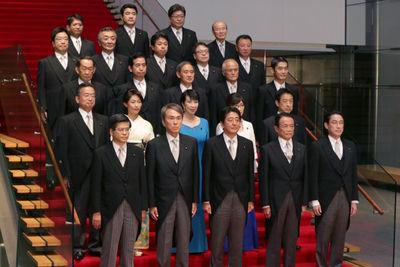 新内閣の布陣は盤石の体制