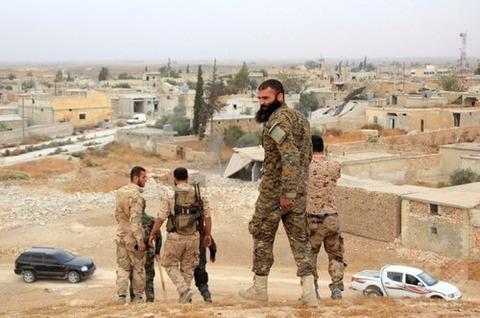 写真はアサド政府軍 解決する日はくるのだろうか AFP