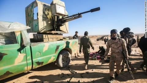 【国際】IS掃討へ、イラク軍が地上作戦を開始