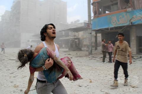 シリア内戦 AFP
