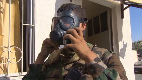 シリアがまたもや化学兵器を使用 許されない一線を越えるアサド