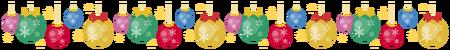 クリスマスオーナメントライン(ボール)