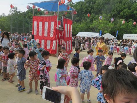 7月22日高美が丘夏祭り2