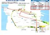 富山マラソンう回路