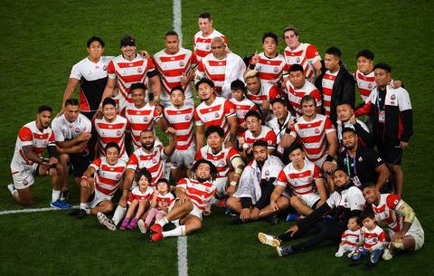 ラグビー日本代表2019