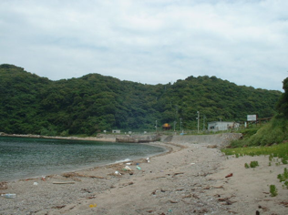 予定地の田ノ浦海岸
