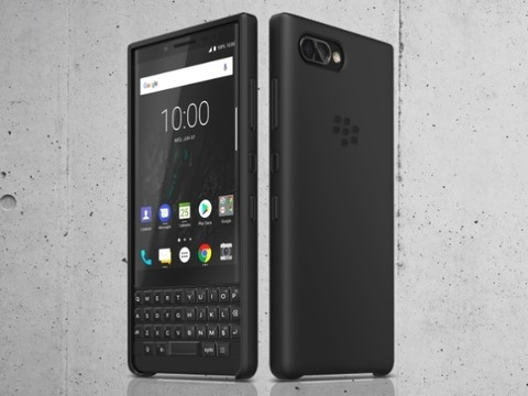 auがBlackBerryを販売するだと・・?