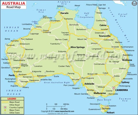 s-australia-road-map