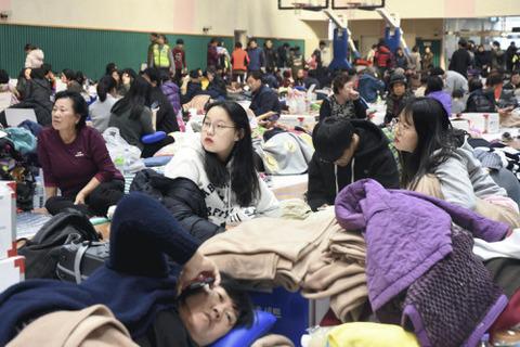 【韓国】震度4で韓国社会は大揺れ…「怖くて、もう家に戻れない」