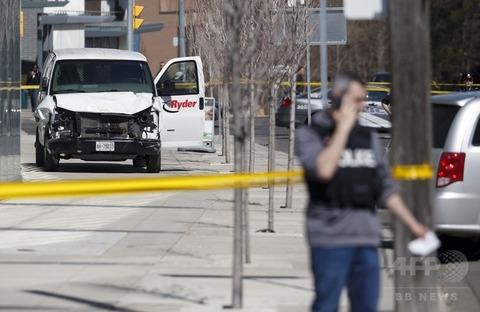 トロント車突入事件 韓国人2人の死亡確認