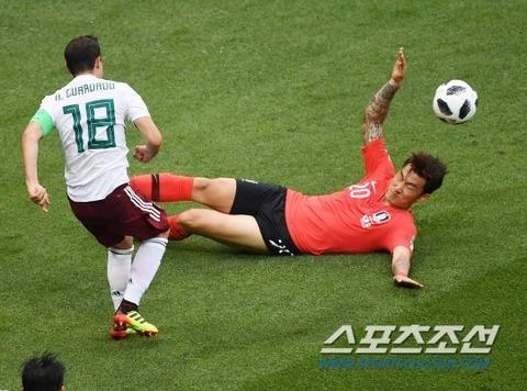 【サッカー】韓国、メキシコに敗れ2連敗