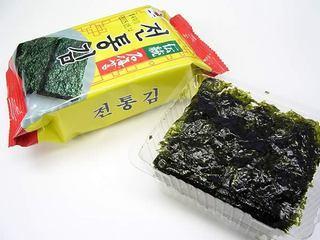 韓国のりがアジアの標準に、世界初の海草類国際規格に選定 「韓国のりは日本人にも人気」