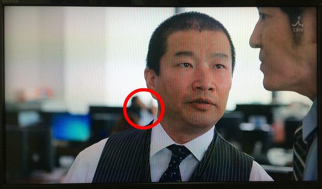 第1話でのこのシーン、木村祐一さんのだいぶ奥に弊社社員がエキストラとして微かに映っています
