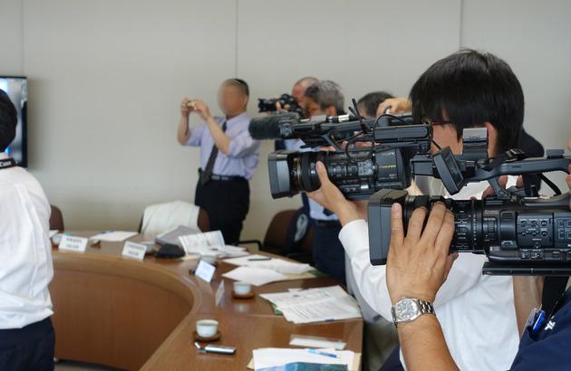 静岡県袋井市とICT連携協定を締結した5月にこんな調印記者会見をやってました! #RWC2019