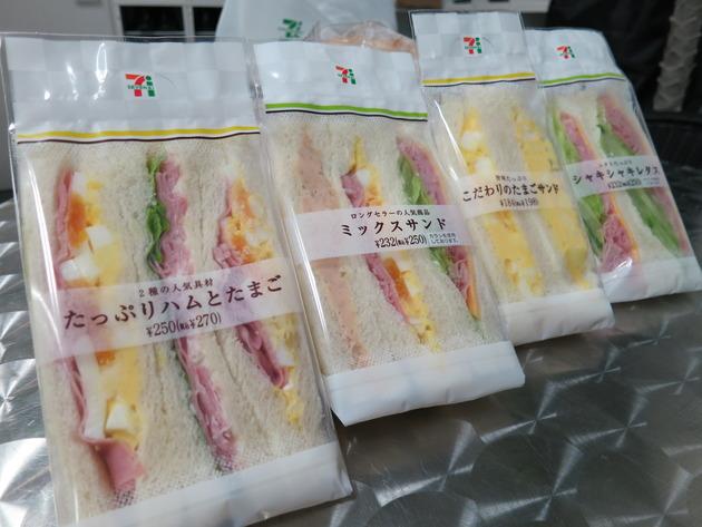 商品ラインナップ「サンドイッチ系」