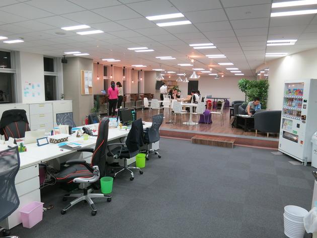 いや~、働きがいのある会社の、働きがいのあるオフィスはオシャレで魅力的でしたね。