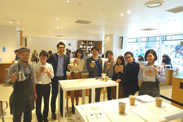 ブルーボトルコーヒーのドリップセミナー@新宿カフェ で美味しいコーヒーの淹れ方と1杯へのこだわりを学んできた