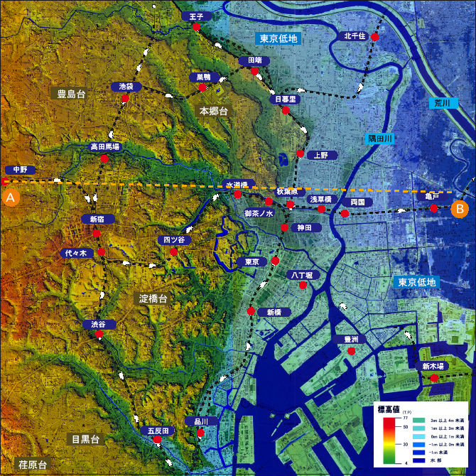 「東京 高低差」の画像検索結果