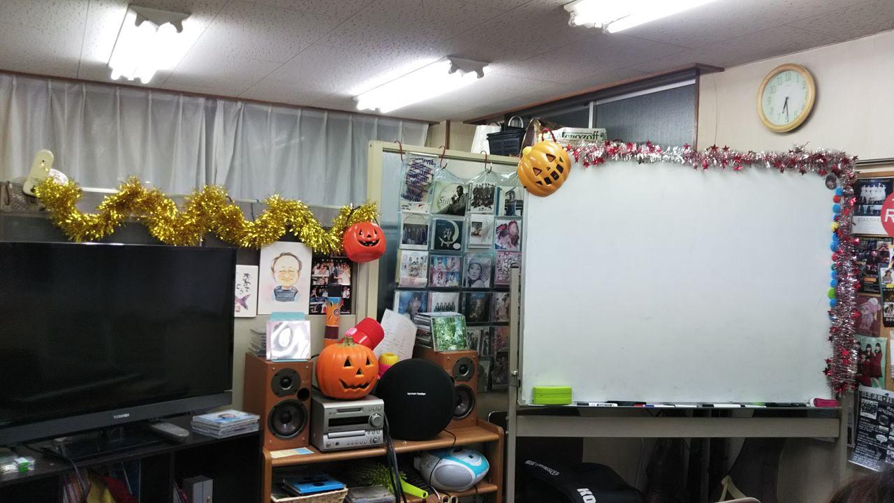 5.10.9ハロウィン教室。