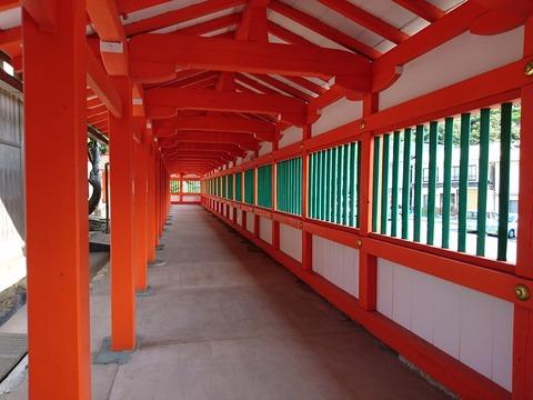 日御碕神社 廻廊