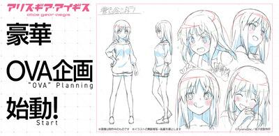 スマホゲーム『アリス・ギア・アイギス』の完全新作OVAが制作決定! 2021年の発売商品に視聴QRコードを付属