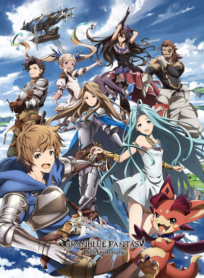 TV���˥��GRANBLUE FANTASY The Animation��2017ǯ1�����������ϡ����͵���������륲����إ����֥롼�ե������٤�A-1 Pictures�����˥Ჽ