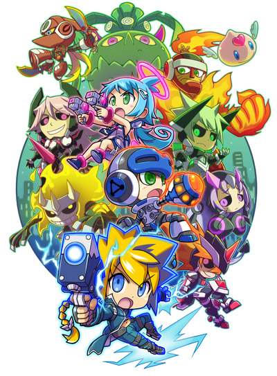 MIGHTY_GUNVOLT_posterのコピー