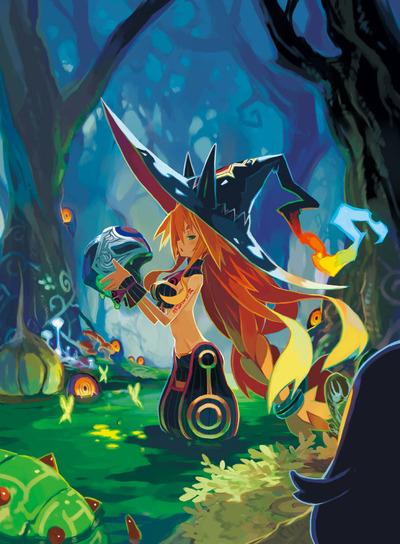 魔女と百騎兵−初回限定版パッケージ用イラスト