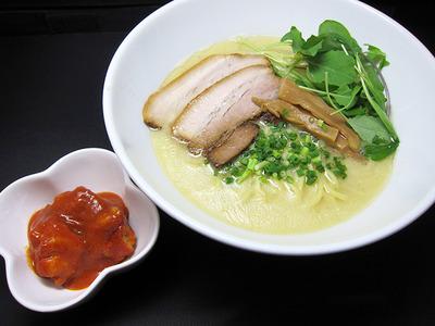 麺家喜多楽_メグからマヤへ(鶏白湯ver)