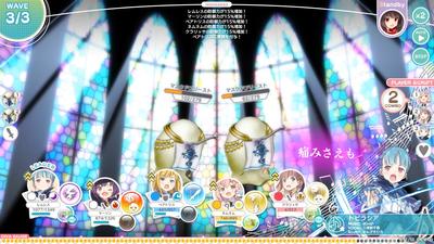 21_バトル画面09:歌姫(DIVA)発動中(レムレス)