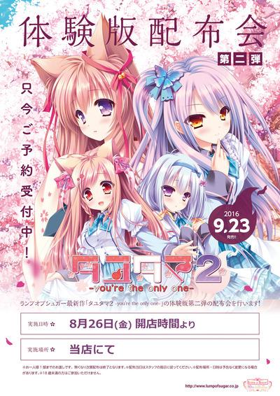 タユタマ2_体験版第2弾POP