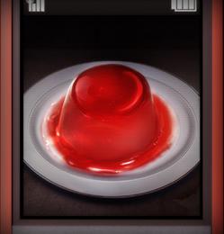 ゲーム中の赤いゼリー画像