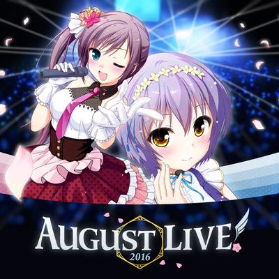 AUGUST LIVE新キービジュアル