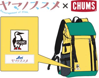 4_ ヤマノススメ CHUMS Day Pack  POP