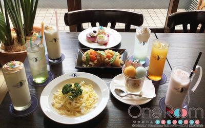 【OneRoom】20180713_キュアメイドカフェ食事写真